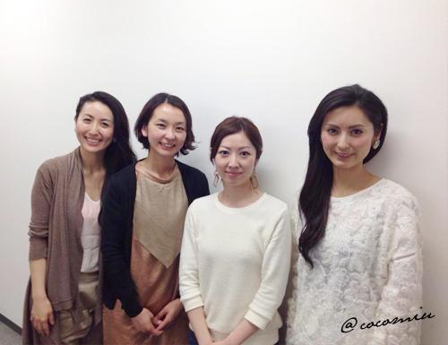 はちみつ美容研究家 東出姉妹のおふたりと  先日、はちみつ美容研究家の佳子さんと直子さんのお話を