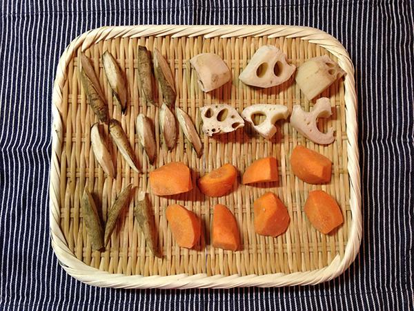 清澄庭園 干し野菜 料理